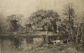 view October on the Neponset, [photomechanical print] digital asset number 1