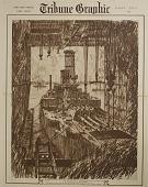 view The Building of a Battleship, [photomechanical print] digital asset number 1