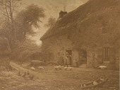 view Birthplace of Francois Millet at Grechy Normandie, [photomechanical print] digital asset number 1