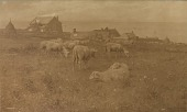 view Home of Jean Charles Cazin at Outro-Sur-Mer, near Boulogne, [photomechanical print] digital asset number 1
