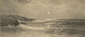 view Moonrise, Cape Ann [photomechanical print] digital asset number 1