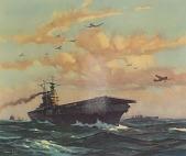 view Aircraft Carrier U.S.S. Hornet [photomechanical print] digital asset number 1
