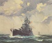 view Battleship U.S.S. Pennsylvania [photomechanical print] digital asset number 1