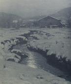 view Woodstock Meadows in Winter [photomechanical print] digital asset number 1