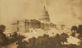 view The Capitol, Washingon [photomechanical print] digital asset number 1
