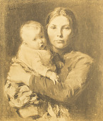 view Mother and Child [photomechanical print] digital asset number 1