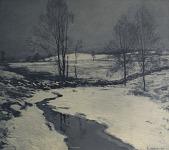 view First Snow [photomechanical print] digital asset number 1