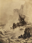 view Cliffs in a Storm [photomechanical print] digital asset number 1
