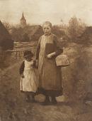 view Children of Laren Going to School [photomechanical print] digital asset number 1