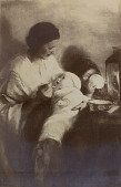 view Mother and Children [photomechanical print] digital asset number 1