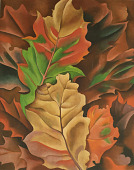view Autumn Leaves [photomechanical print] digital asset number 1