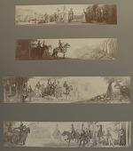 view Le morte d'Arthur (frieze) [photomechanical print] digital asset number 1