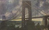 view George Washington Bridge [photomechanical print] digital asset number 1