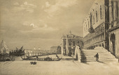 view St. Marcus Place with the Doges Palace, Venice [photomechanical print] digital asset number 1