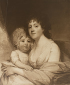 view Mrs. Samuel Gattiff and Daughter [photomechanical print] digital asset number 1