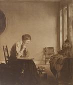 view Girl Reading [photomechanical print] digital asset number 1
