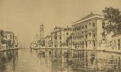 view Venetian View [photomechanical print] digital asset number 1