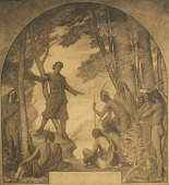 view John Eliot Addressing the Indians [photomechanical print] digital asset number 1