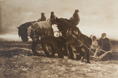 view Ploughing in Arcadia [photomechanical print] digital asset number 1