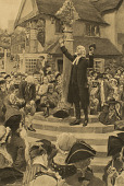 view John Wesley Preaching from the Steps of a Market Cross [photomechanical print] digital asset number 1