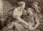 view Death of Marc Antony [photomechanical print] digital asset number 1