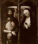 view Christ and Mary [photomechanical print] digital asset number 1
