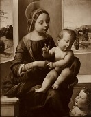 view Madonna and Child with Infant St. John [photomechanical print] digital asset number 1