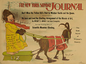 view The Yellow Kid's Visit to Windsor Castle: New York Sunday Journal Advertising Poster [photomechanical print] digital asset number 1