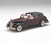 view Cadillac V16 model car (burgundy) digital asset number 1