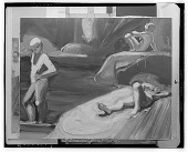 view Three Figures [painting] / (photographed by Walter Rosenblum) digital asset number 1