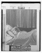 view Child in Bed [painting] / (photographed by Walter Rosenblum) digital asset number 1