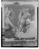 view Two Runners [painting] / (photographed by Walter Rosenblum) digital asset number 1