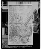 view Fire Escape with Flowers, [painting] / (photographed by Walter Rosenblum) digital asset number 1