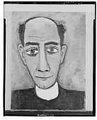 view Portrait of a Clergyman [painting] / (photographed by Walter Rosenblum) digital asset number 1
