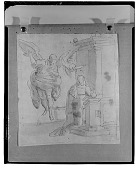 view The Annunciation, [drawing] / (photographed by Walter Rosenblum) digital asset number 1
