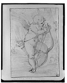 view Cupid Stringing his Bow, [drawing] / (photographed by Walter Rosenblum) digital asset number 1