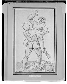 view Hercules Wrestling with Anteus, [drawing] / (photographed by Walter Rosenblum) digital asset number 1