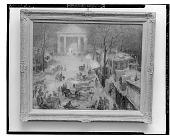 view Winter Street Scene [painting] / (photographed by Walter Rosenblum) digital asset number 1