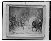 view Christmas Shoppers [painting] / (photographed by Walter Rosenblum) digital asset number 1