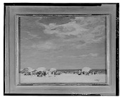 view Beach Scene [painting] / (photographed by Walter Rosenblum) digital asset number 1
