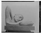 view Figure Stretching [sculpture] / (photographed by Walter Rosenblum) digital asset number 1