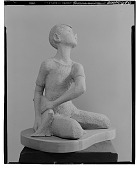 view Seated Figure [sculpture] / (photographed by Walter Rosenblum) digital asset number 1