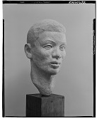 view Head of a Man [sculpture] / (photographed by Walter Rosenblum) digital asset number 1
