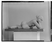 view Resting Figure [sculpture] / (photographed by Walter Rosenblum) digital asset number 1