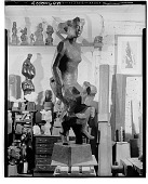 view Mother Dancing [sculpture] / (photographed by Walter Rosenblum) digital asset number 1