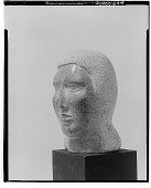 view Head of a Woman [sculpture] / (photographed by Walter Rosenblum) digital asset number 1