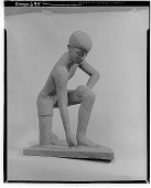 view Crouching Figure [sculpture] / (photographed by Walter Rosenblum) digital asset number 1