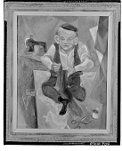 view The Tailor [painting] / (photographed by Walter Rosenblum) digital asset number 1