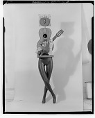 view My Mother, the Guitar [sculpture] / (photographed by Walter Rosenblum) digital asset number 1