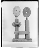 view Two Abstract Figures [sculpture] / (photographed by Walter Rosenblum) digital asset number 1